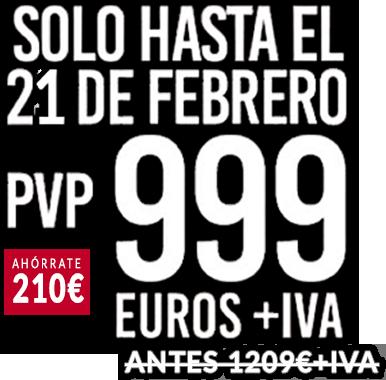 Oferta especial Estufa de leña E-40. Solo hasta el 21 de febrero 999 €