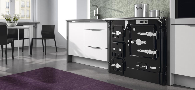 Cocinas calefactoras dise o tradicional pensado para el for Pailas para cocinas calefactoras