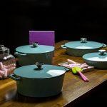 Cocottes y sartén Díamond Hearthstone Cookware