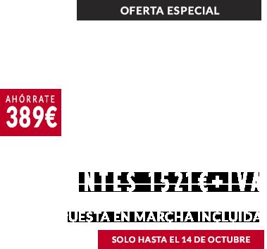 Estufa Enza 10 en oferta 1199 valida hasta el 14/10/2019