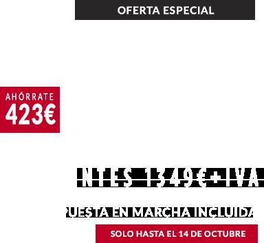Estufa Enza 8 en oferta 1199 valida hasta el 14/10/2019