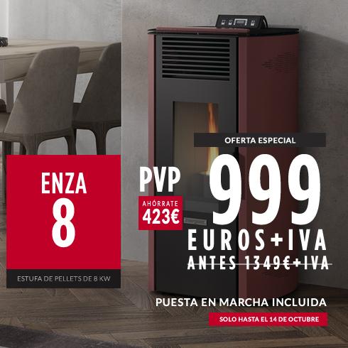 Enza 8 en promoción con puesta en marcha incluida - 999€